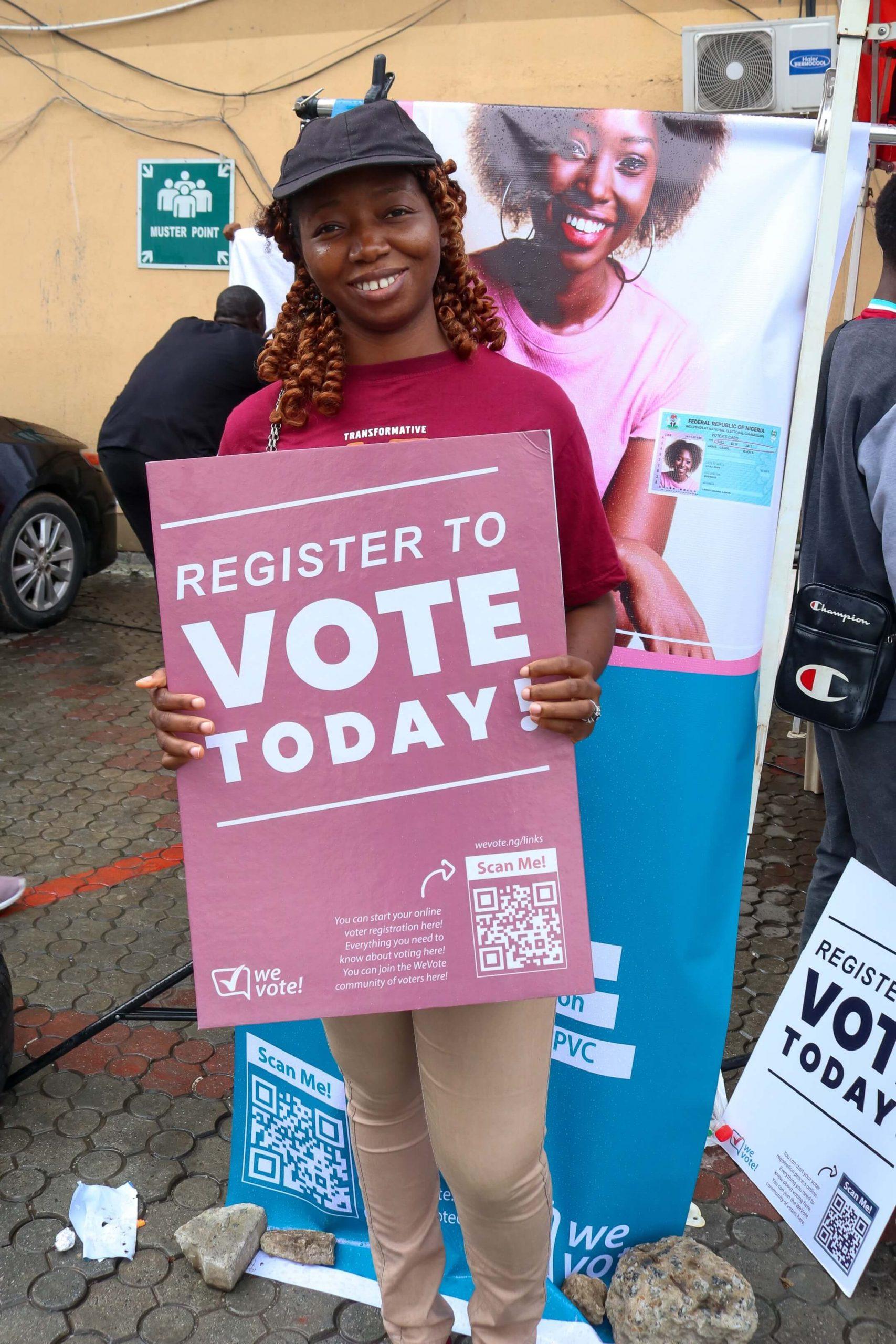 WeVote Nigeria PVC Drive
