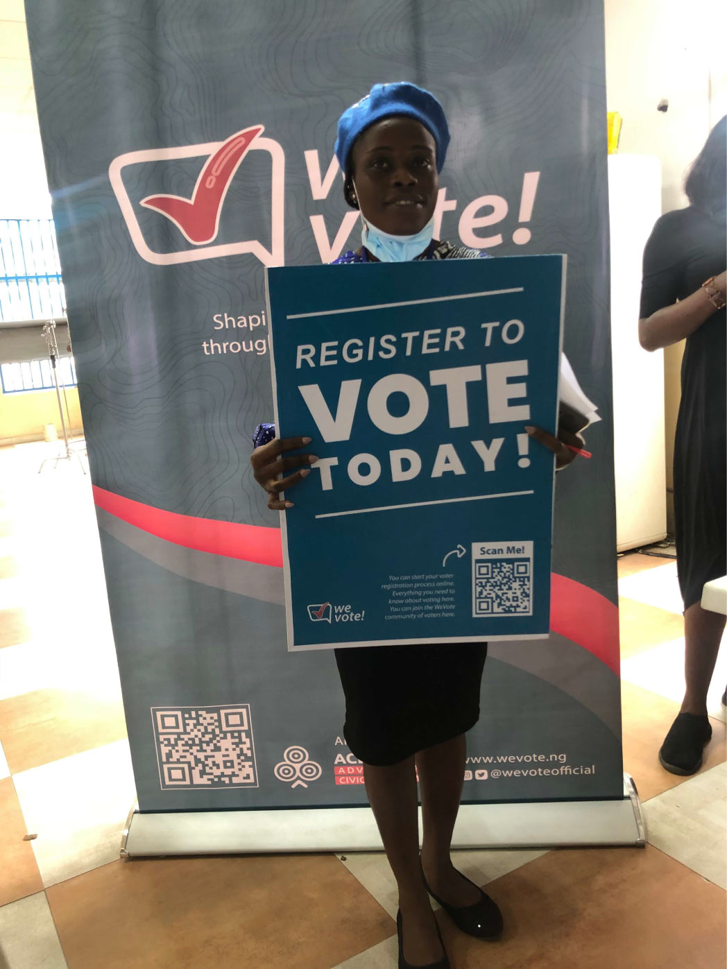 WeVote targets youth and first time voters at RCCG with voter education, awareness and registration
