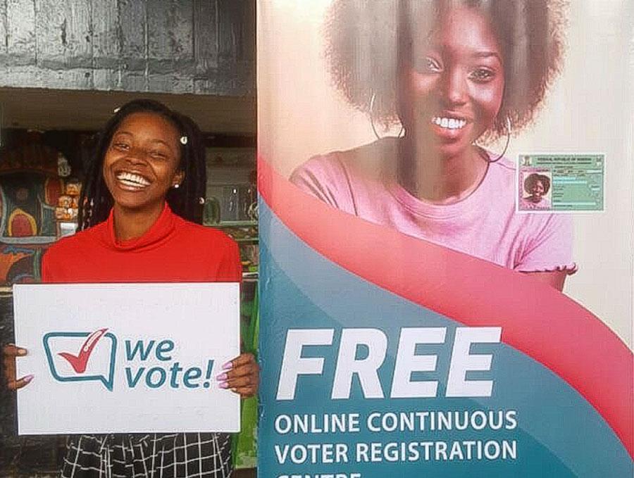 WeVote registers students at Obafemi Awolowo University OAU